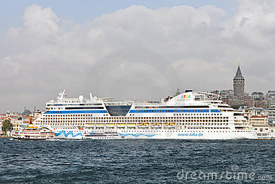 Cruise Ship AIDA Diva  Editorial Photography