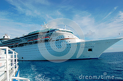 Cruise Ship, Soveriegn Of The Seas Editorial Stock Photo