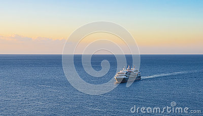 Cruise ship background