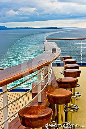 Free Cruise Ship Bar & Wake Stock Photos - 22639813