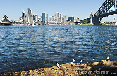Cruise ship berthed in Sydney Editorial Image