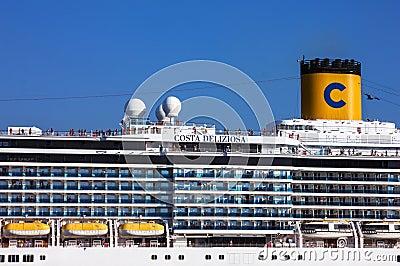 Cruise ship Costa Deliziosa Editorial Photography