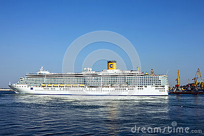 Cruise ship Costa Deliziosa Editorial Stock Image