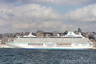 Cruise Ship Crystal Serenity Editorial Image