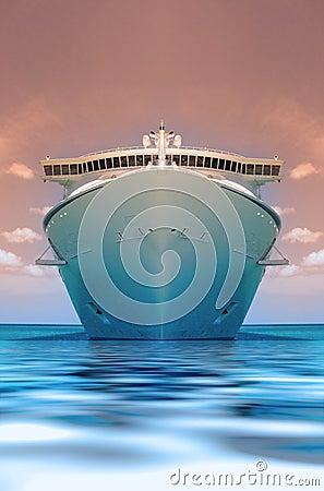Cruise ship duotone