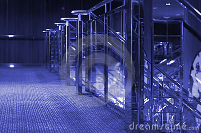 Cruise Ship Interior-Purple