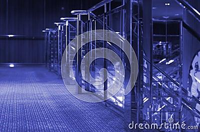 Cruise Ship Interior-Purple