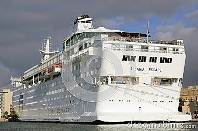 Cruise ship Island Escape Editorial Photo