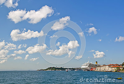 Cruise Ship in Istanbul