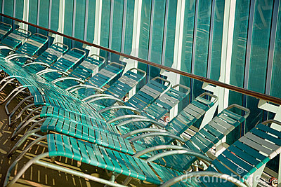 Cruise Ship Lounge Chairs Abstract