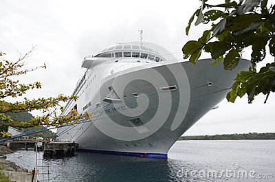 Cruise Ship. Editorial Photo
