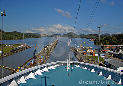 Cruise Ship, Panama Canal