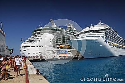 Cruise Ship Passengers Editorial Photo