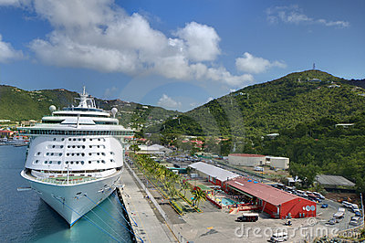 Cruise ship at Port