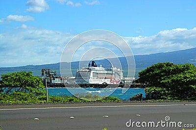 Cruise Ship At Port Of Call Stock Photos  Image 1139483