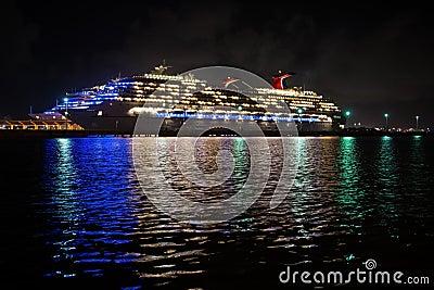 Cruise Ship reflection Editorial Photography