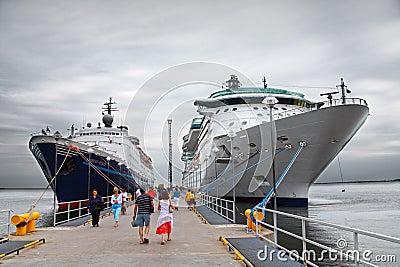 Cruise ship s  Editorial Photo