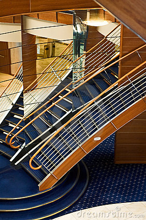 Cruise ship s interior