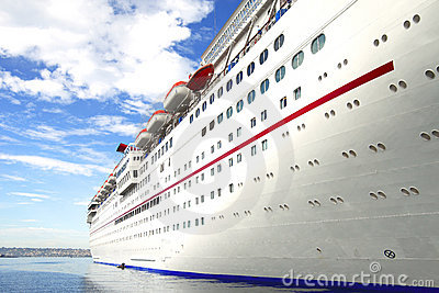 Cruise ship, San Diego CA.