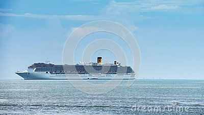 Cruise ship Editorial Stock Photo