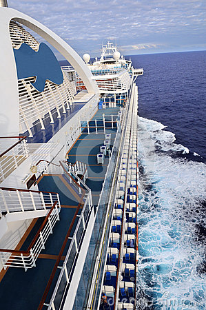 Cruise Ship From Side View
