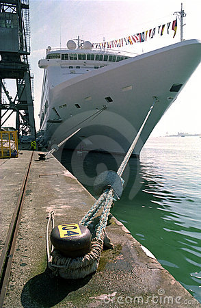 Cruise Ship, Southampton United Kingdom.
