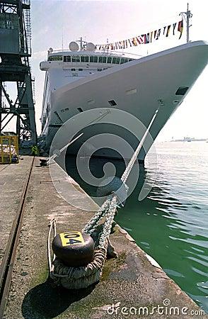Cruise Ship, Southampton United Kingdom.