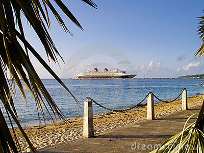 Cruise ship in St. Croix