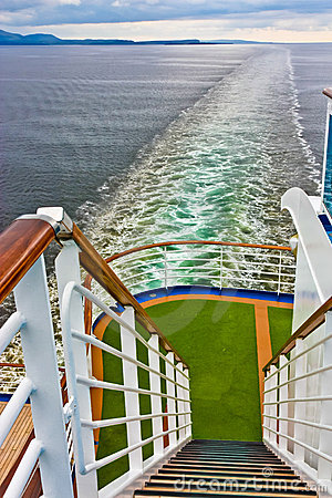 Cruise Ship Stern View