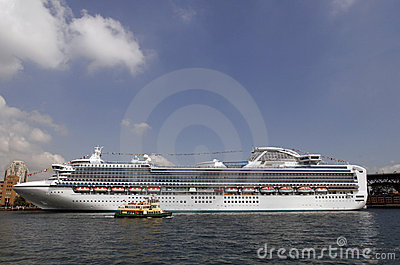 Cruise Ship In Sydney