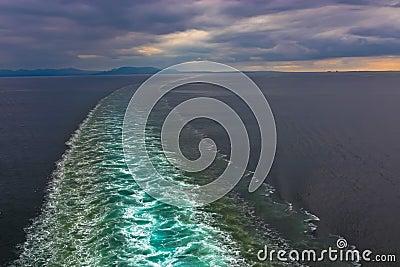 Cruise Ship Wake