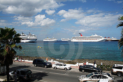 Cruise ships Editorial Photography