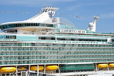 Liberty of the Seas Editorial Stock Image
