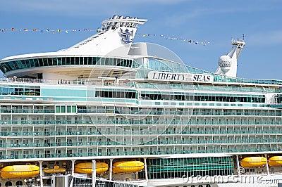 Liberty of the Seas Editorial Stock Image