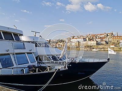 Cruise ships in Porto