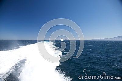 Cruise at straits of gibraltar