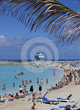 Cruise vacation Editorial Image