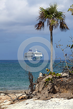 Cruise Vacation Editorial Photo