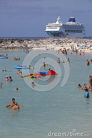 Cruise Vacation Editorial Photo