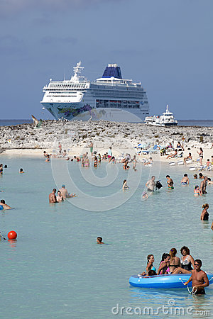 Cruise Vacation Editorial Stock Photo
