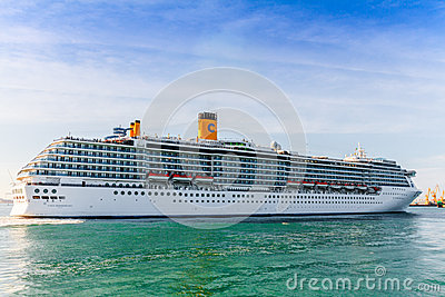 Cruiser Costa Mediterranea Editorial Photography