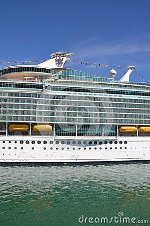 Cruiser ship Navigator of the Seas Editorial Photography