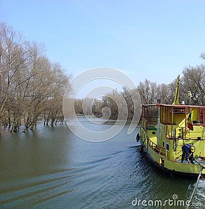 Free Cruising (Danube Delta) Royalty Free Stock Photo - 95315