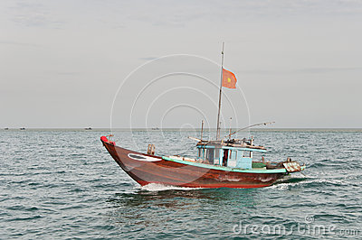 Cruising Fishing Boat