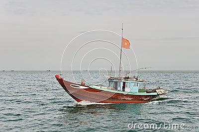 Cruising Fishing Boat