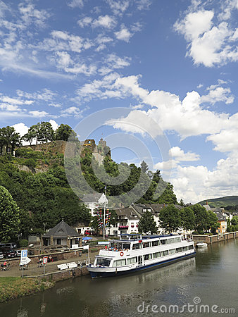 Cruising on the river in Germany Editorial Photography