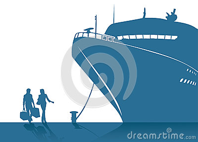Cruising ship
