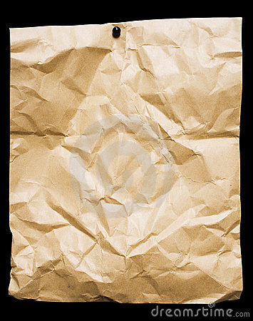Crumbled Packing Paper