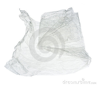 Crumpled cellophane