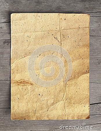 Crumpled grunge paper